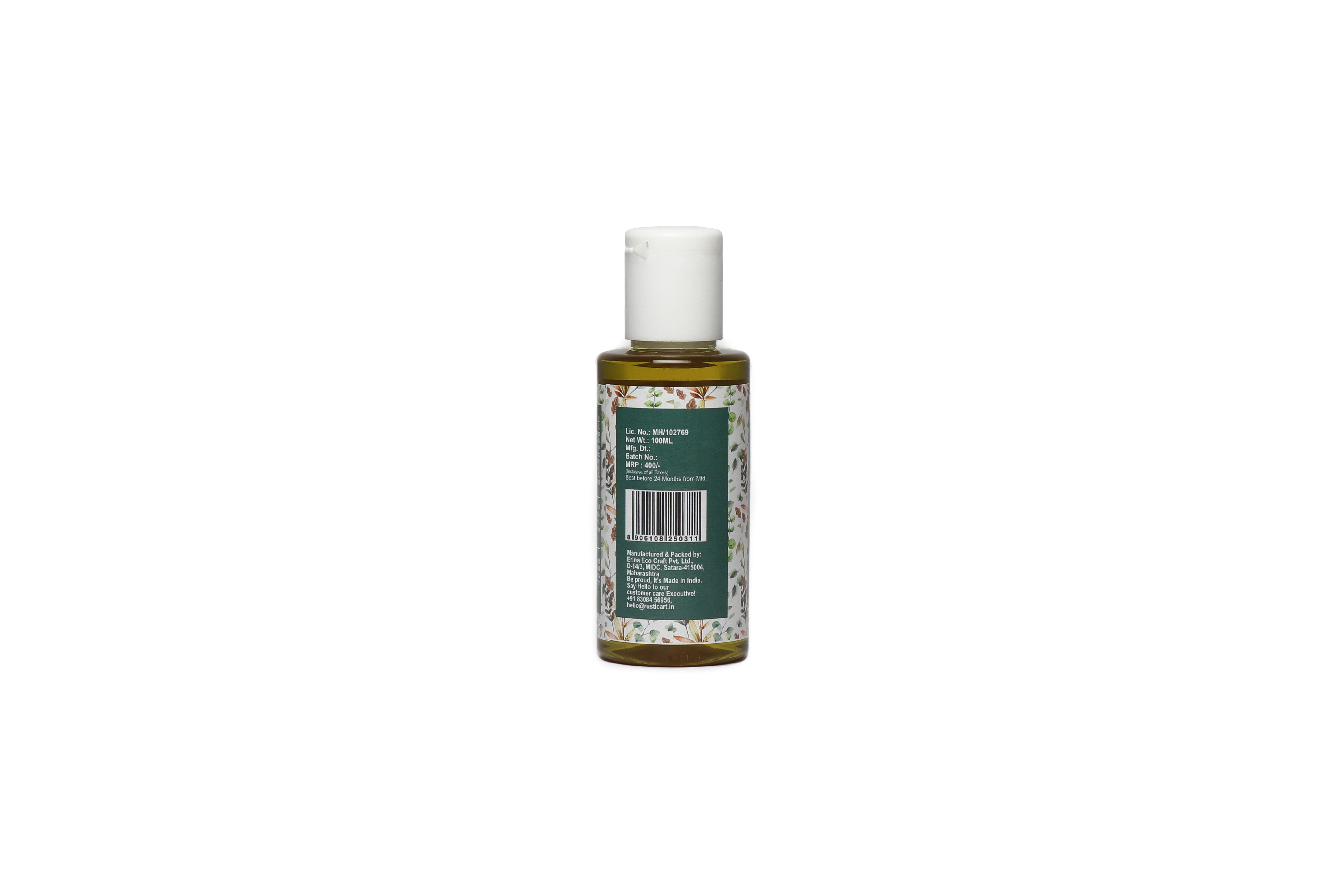 Organic Deep Conditioning Hair Oil