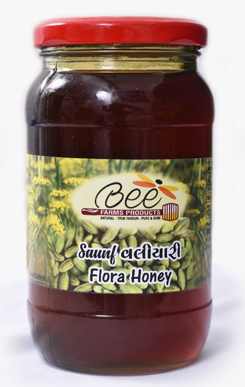 Saunf Flora Honey (500g)