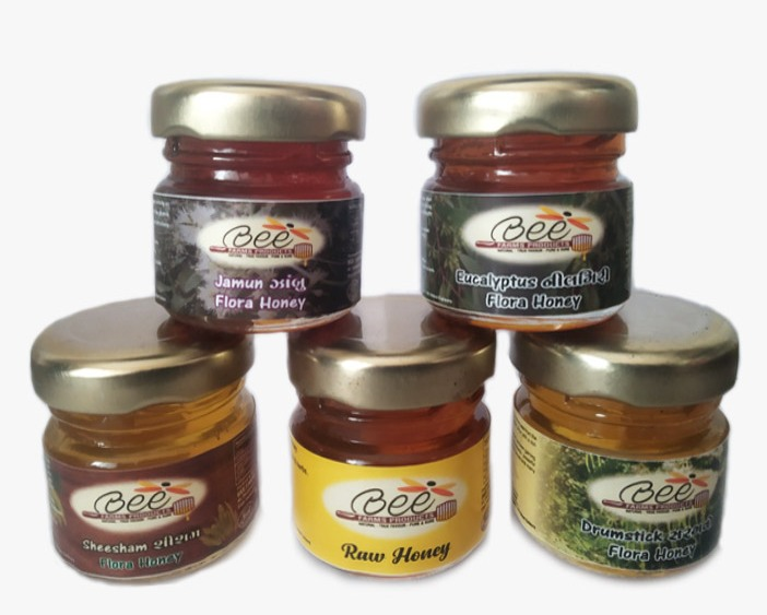 Honey Combo Small 5 ( 50g Each Starters Pack)