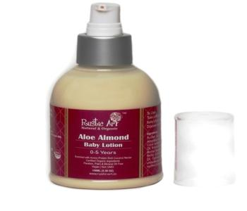 Organic Aloe Almond Baby Lotion