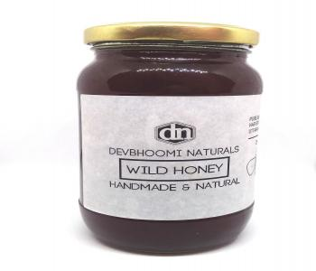 Pure & Natural Wild Honey (Dark Amber Honey,Thik Texture,Rich Pollen and Very Aromatic)