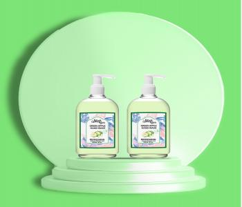 Green Apple - Natural Hand Wash (Pack of 2)