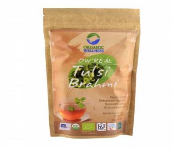 Tulsi Brahmi Tea (100 gm Zipper)
