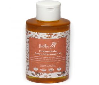 Organic Calendula Baby Massage Oil