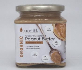 Peanut Butter (Creamy UnSweetened) Org.