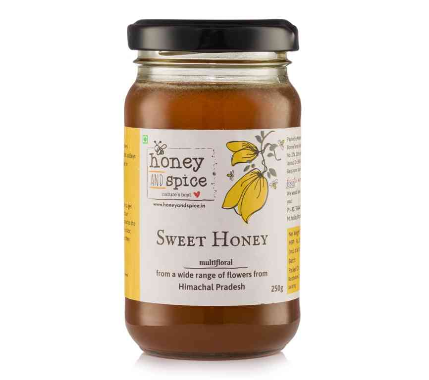 Raw Sweet Honey
