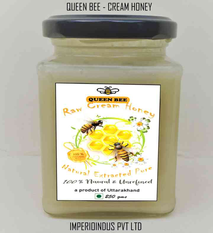 Natural Cream Honey