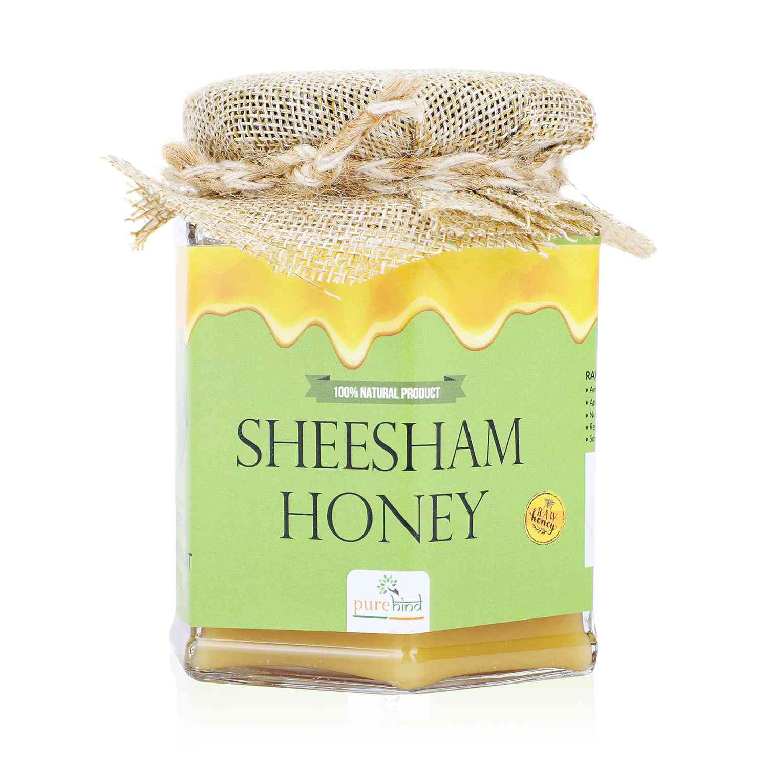 PUREHIND SHEESHAM HONEY