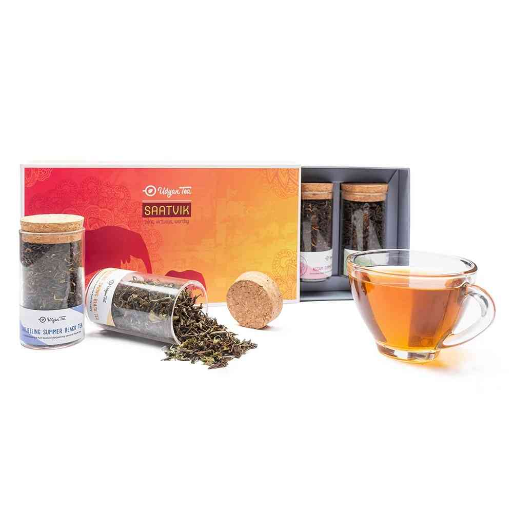 SAATVIK (A premium mix of 4 pure black teas from different regions of India.)